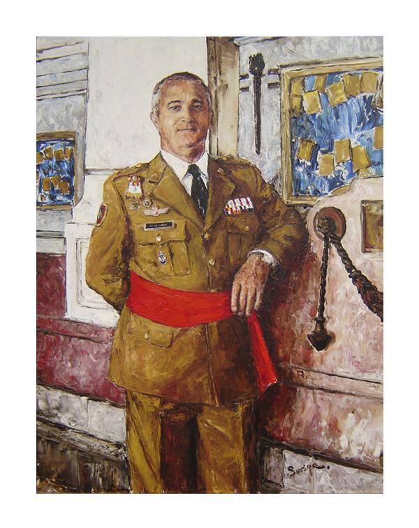 General De La Rosa portrait